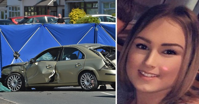 harlie Leigh Burgoyne, 17, was in the passenger seat (Picture: PA; BPM Media)