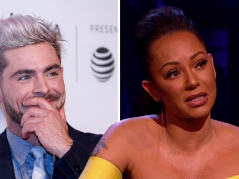 Mel B hints she's had sex with Zac Efron and recalls having Peter Andre as a booty call