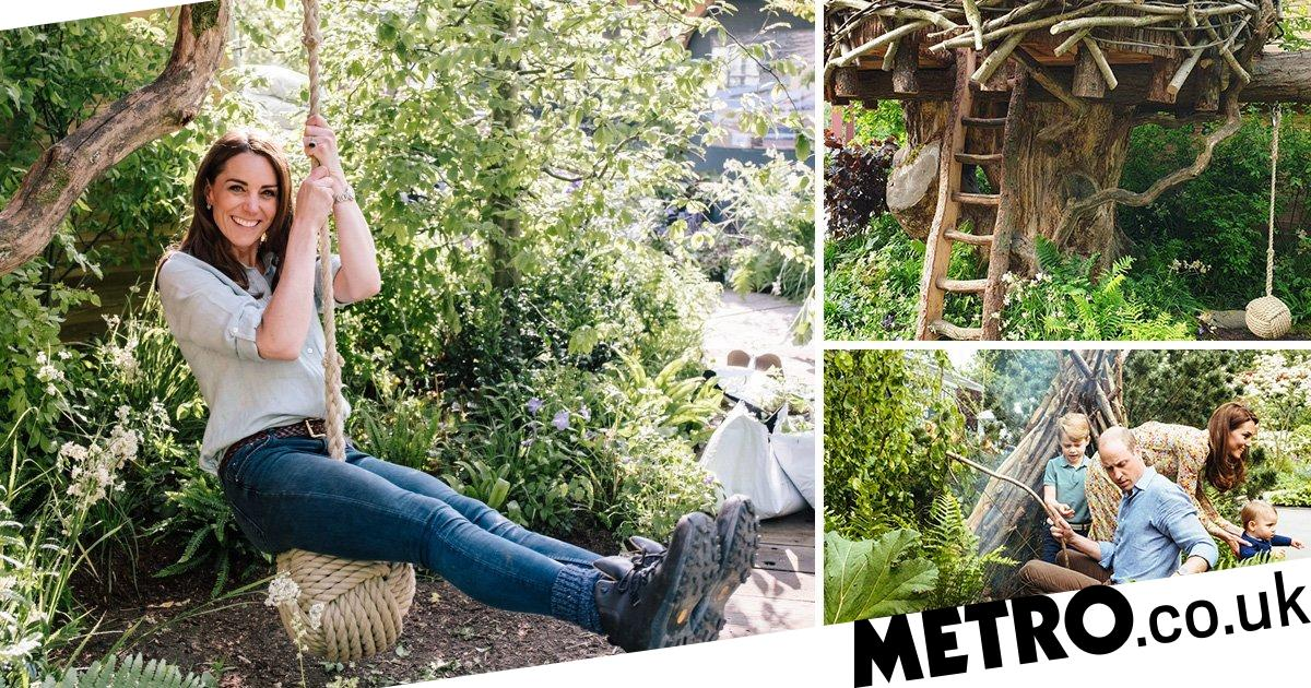 Kate will design another garden after Chelsea Flower Show success