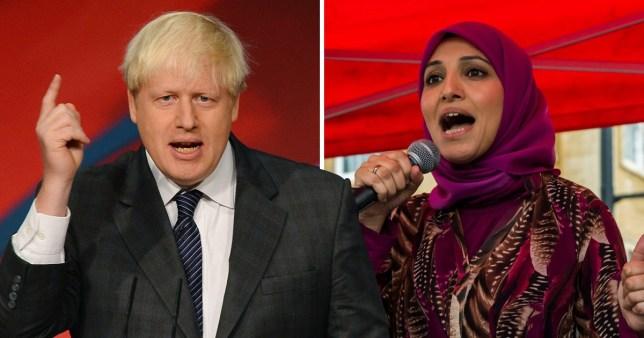 Muslim women express concern about Boris Johnson's bid to become PM