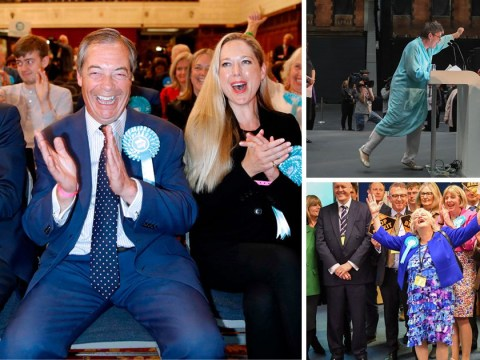 Brexit Party storms to victory in European elections