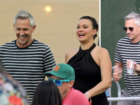 Gary Lineker 'only has eyes for' celeb chef Gizzi Erskine at All Points East festival