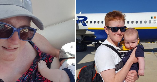 Rachel Duffy says she felt embarrased after a Ryanair air steward told her to stop breastfeeding