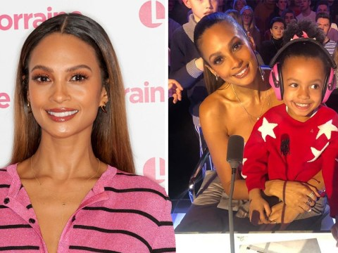 How Alesha Dixon feared she was 'too old' to have second baby as BGT judge confirms pregnancy