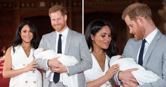 The Duke and Duchess of Sussex are taking parenthood in their stride, according to friends (Picture: PA)