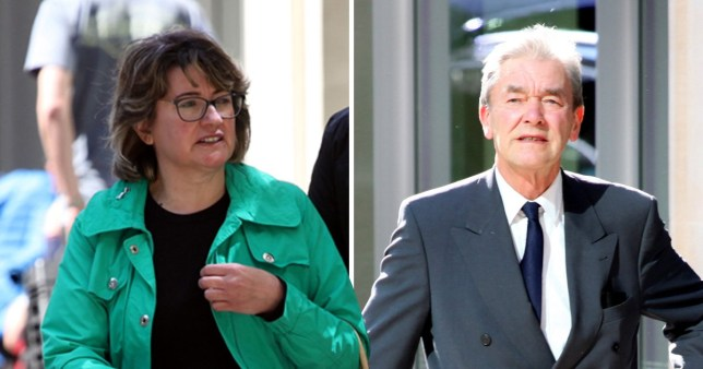 Leonora Da Costa (left) 50, says she was the one who looked after ex Savoy head waiter Harold Tickner following the death of his wife in 2012