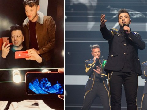Westlife's Mark Feehily reveals he is expecting first baby: 'This is the proudest moment of our lives'