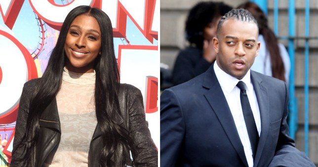 Alexandra Burke supports Oritse Williams after he's cleared of rape