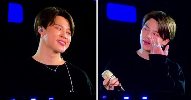 BTS' Jimin explains the heartwarming reason he cried on-stage in