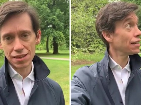 Tory leadership candidate Rory Stewart admits 'pretending' to film himself