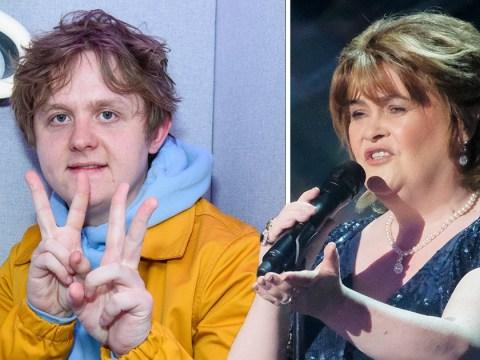Susan Boyle cracks joke about #susanalbumparty and invites Lewis Capaldi to join supergroup