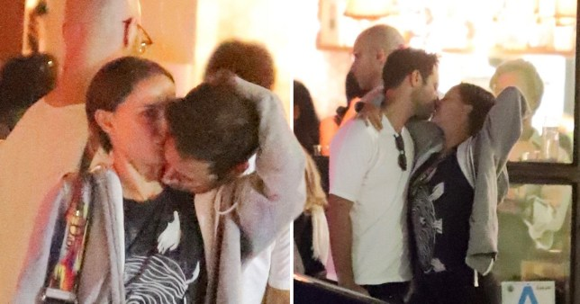 Natalie Portman Kisses Husband Benjamin Millepied On Date Night Metro News