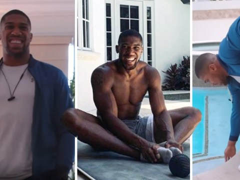 Inside Anthony Joshua's luxurious Miami mansion as he prepares for Andy Ruiz Jr fight in New York