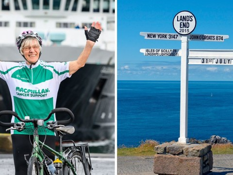 Gran who lost all her children will be oldest woman to cycle length of Britain