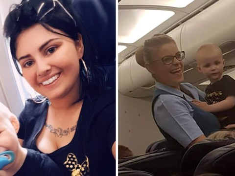 Mum praises airline crew for their reaction when her daughter choked on a Pringle