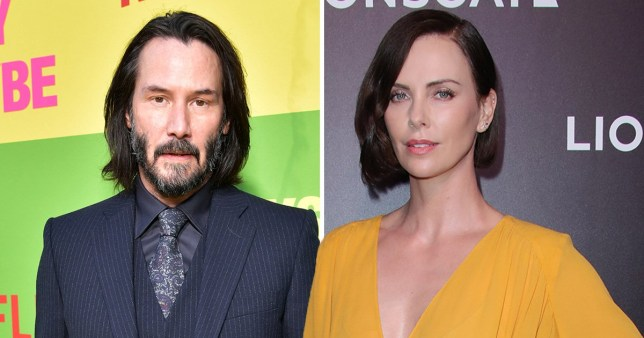 Fans want Keanu Reeves and Charlize Theron to start dating