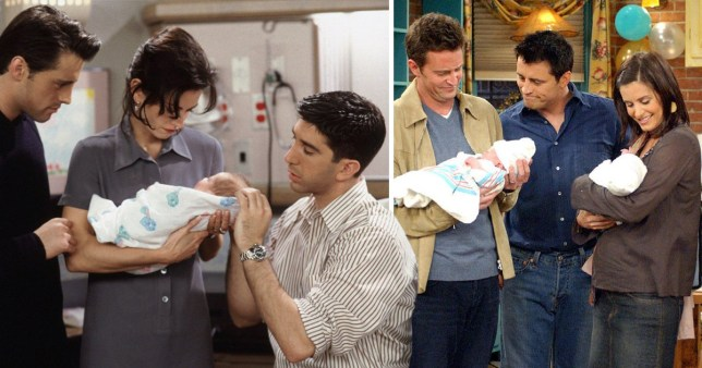 Friends - The One Where Ben Was Born