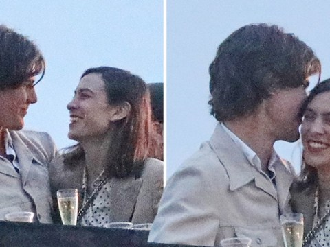 Alexa Chung 'moves on from Alexander Skarsgard' as she cosies up with mystery man