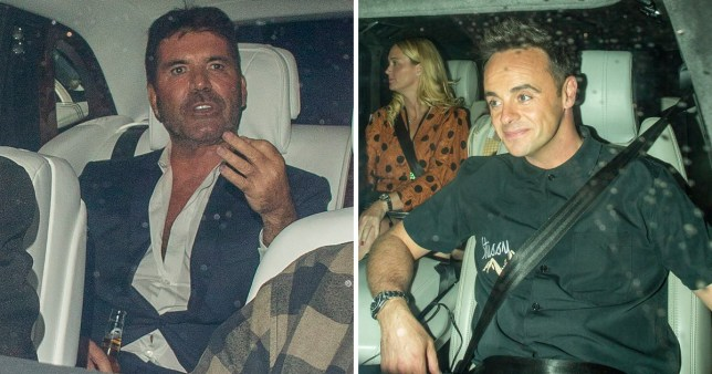 Simon Cowell and Ant McPartlin leave Britain's Got talent