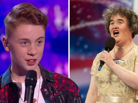 Britain's Got Talent hopeful James Kerr was just 3 when Susan Boyle auditioned and now we feel ancient