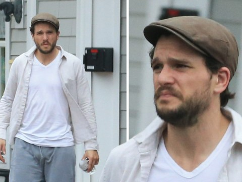 Kit Harington visits a fitness centre as he is seen for the first time since entering a wellness retreat