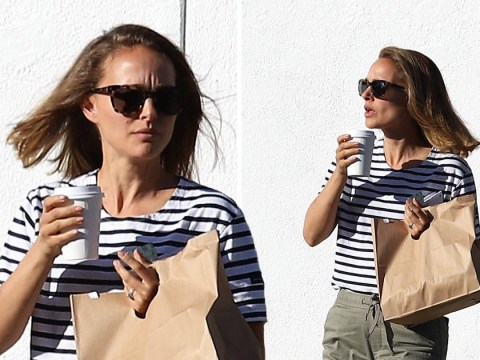 Natalie Portman hits the hair salon in Hollywood after Moby admits to acting 'disrespectfully'