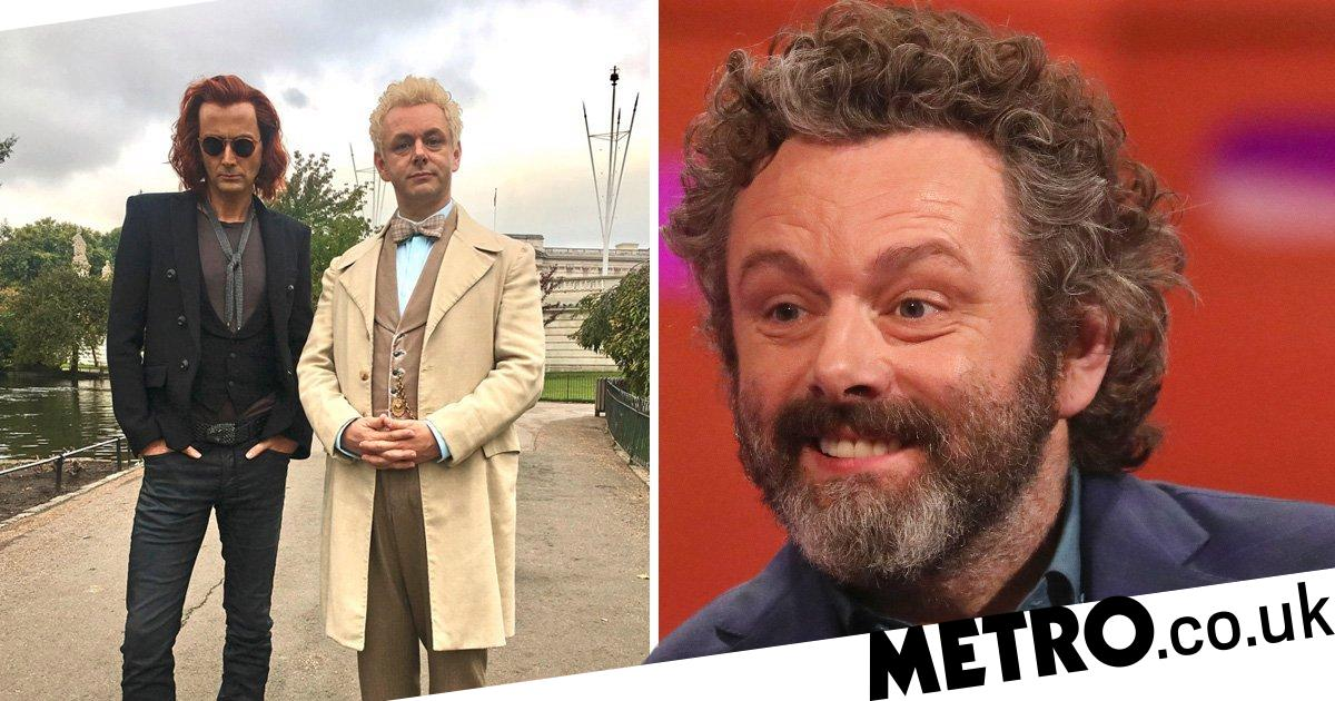 Michael Sheen Awkwardly Asked If He Wore A Fat Suit In Good Omens