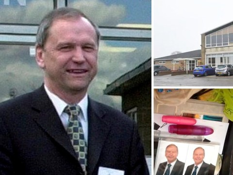 Headteacher who used school funds to build 'sex dungeon' is banned from classroom