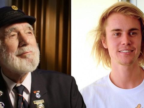 War veteran, 90, hopes to knock Ed Sheeran and Justin Bieber off Official Charts