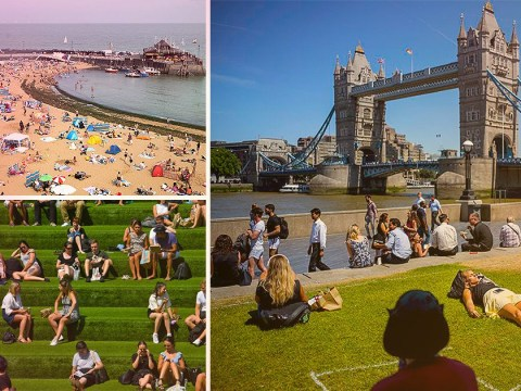 What is the UK weather forecast for tomorrow as London prepares for hottest day of the year?