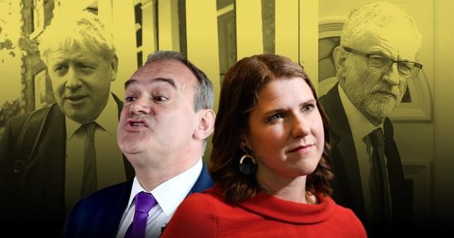 Lib Dem leadership hopefuls Jo Swinson and Sir Ed Davey say coalition with 'Brexiteers' Boris and Corbyn won't happen