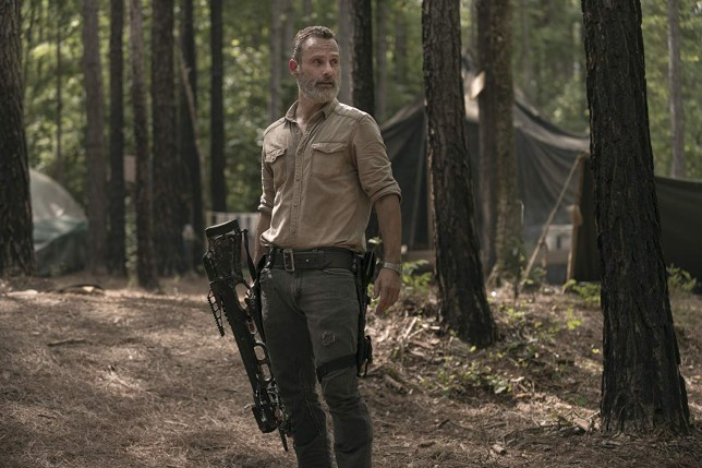 Andrew Lincoln as The Walking Dead's Rick Grimes