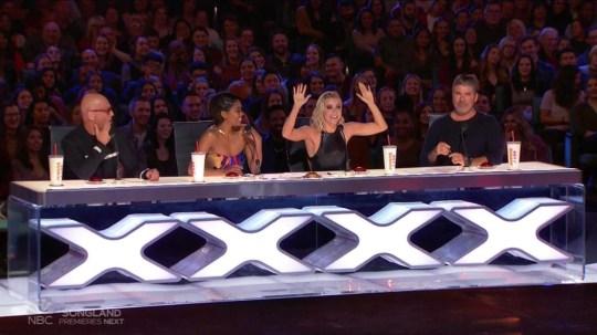 America's Got Talent judging panel