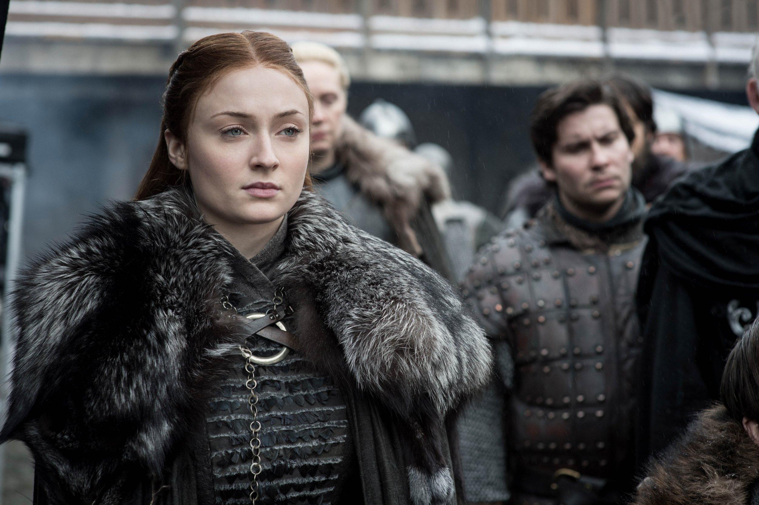 Game Of Thrones' Sophie Turner defends Sansa Stark's controversial 'rape' line in final season