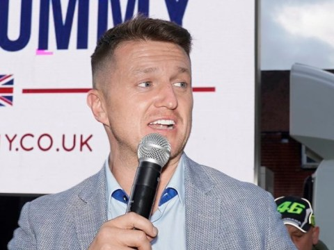 Tommy Robinson takes election campaign to 'most depressed town in England'