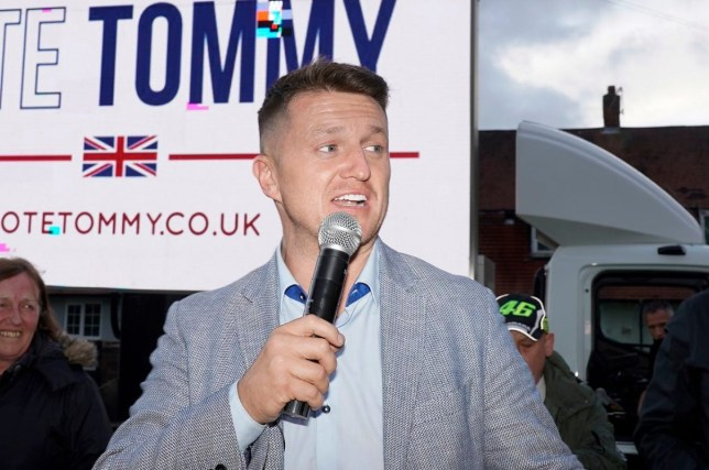 Tommy Robinson takes campaign to working class neighbourhoods of the north-west