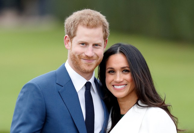 Prince Harry Duke of Sussex and Meghan Markle Duchess of Sussex