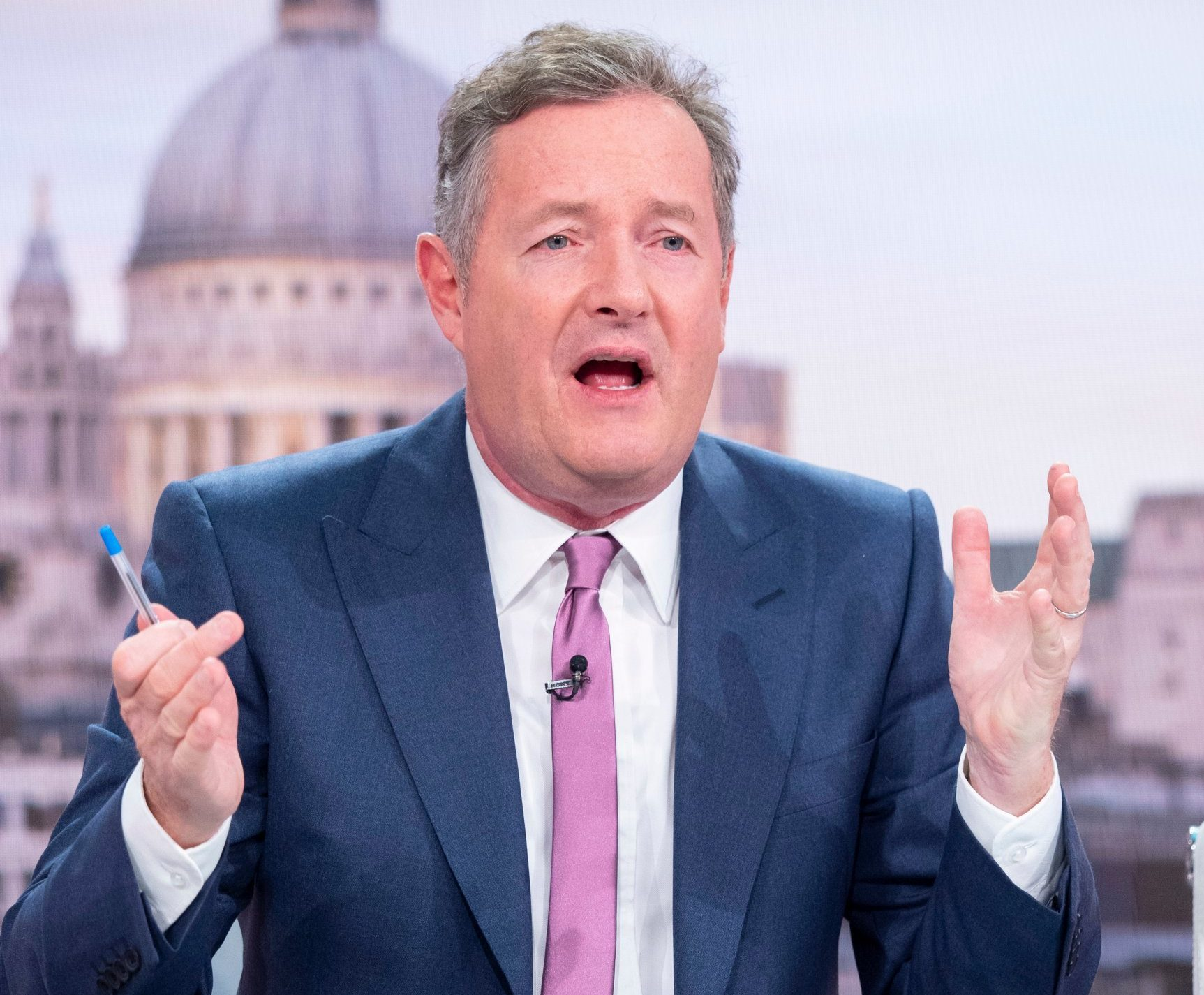 Piers Morgan isn't taking Baftas loss well as GMB misses out despite 50% of nomination