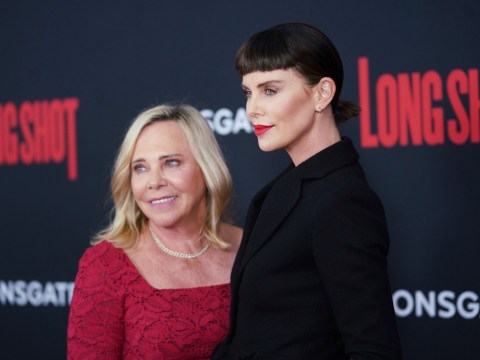 Charlize Theron takes her mum to Long Shot premiere after opening up on #MeToo movement