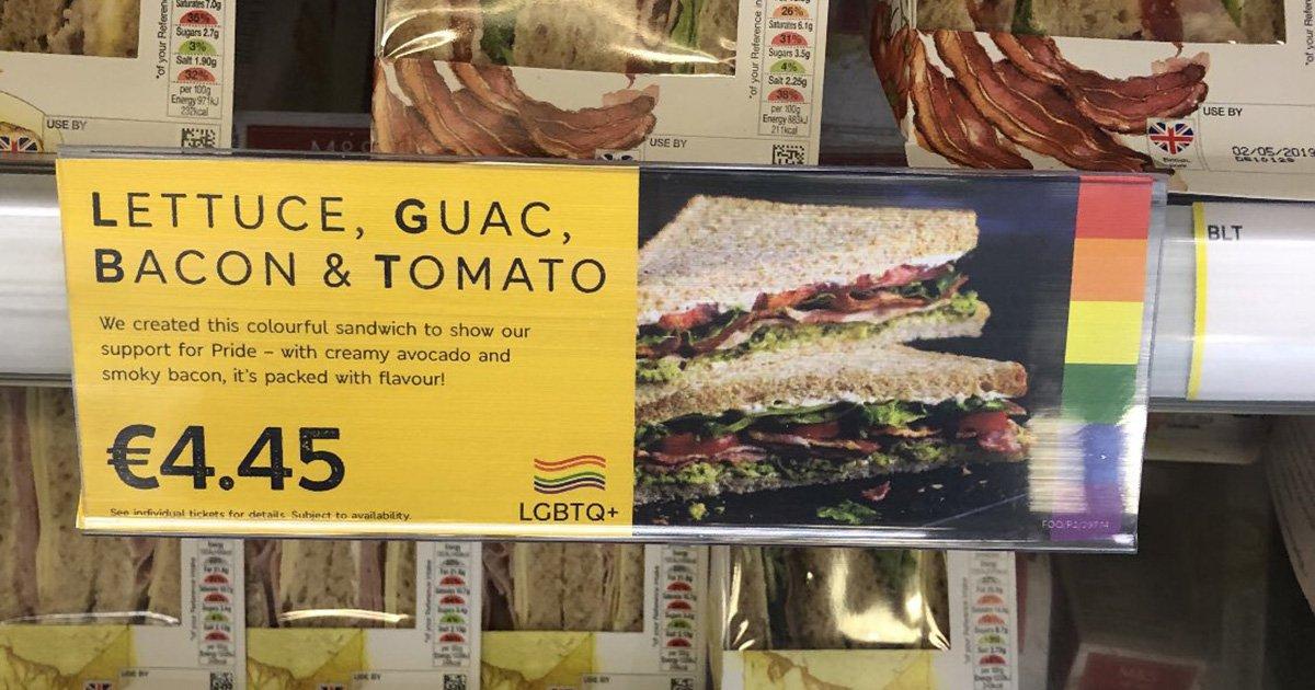 M&S is selling an artisanal LGBT sandwich