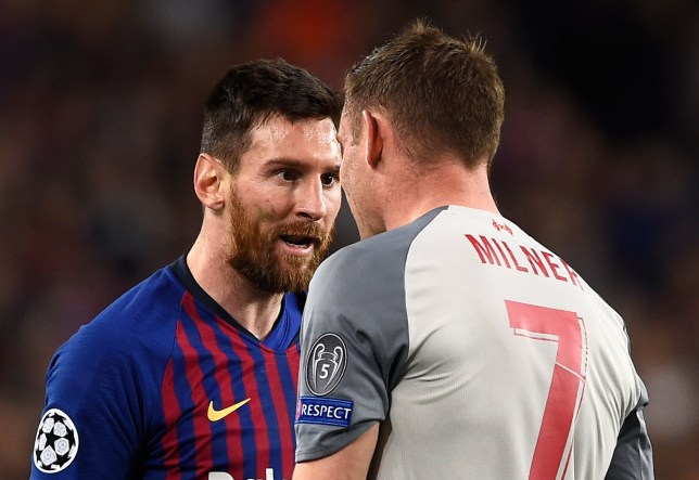 Lionel Messi called James Milner a 'donkey' in Spanish