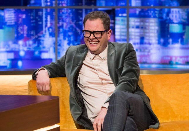 Alan Carr appears as a guest on 'The Jonathan Ross Show' TV show in London, UK on 04 May 2019