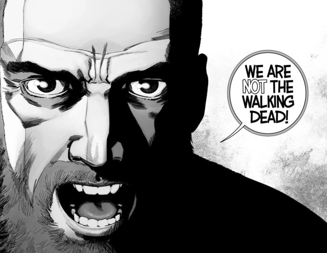 The Walking Dead just delivered a huge blow which make us very worried for the Rick Grimes movies Picture: Image Comics METROGRAB source: https://uk.ign.com/articles/2019/05/01/the-walking-dead-comic-rocked-by-game-changing-twist