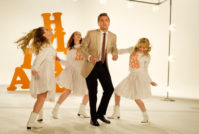 """This image released by Sony Pictures shows Leonardo DiCaprio in Quentin Tarantino's """"Once Upon a Time in Hollywood."""" The film was announced as a late addition to the Cannes Film Festival on Thursday, May 2. It will premiere in competition at the upcoming French festival, adding one of the summer???s starriest, most anticipated films to Cannes??? red carpet. (Andrew Cooper/Sony-Columbia Pictures via AP)"""