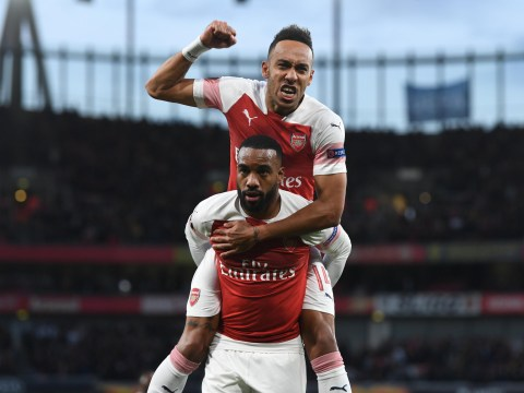 Arsenal preparing to offer new contracts to Pierre-Emerick Aubameyang and Alexandre Lacazette