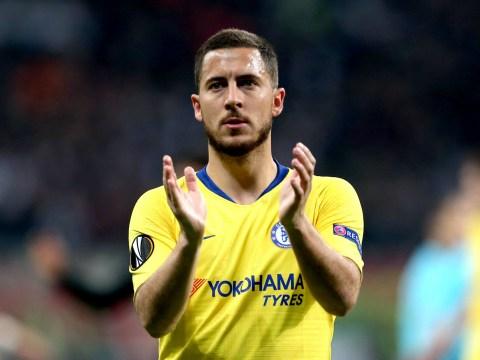 Maurizio Sarri reveals how Chelsea star Eden Hazard reacted to being benched v Eintracht Frankfurt