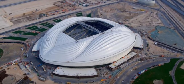 The 2022 World Cup stadium near Doha, Qatar, has been said to resemble a vagina
