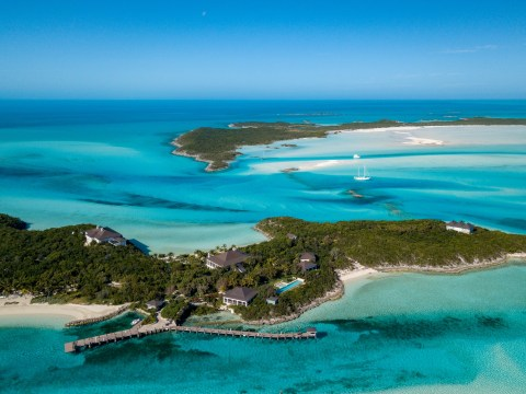 If you've got a spare £65million you can get your own private island in the Bahamas