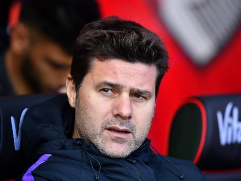 Mauricio Pochettino reacts to Tottenham's nine-man defeat to Bournemouth