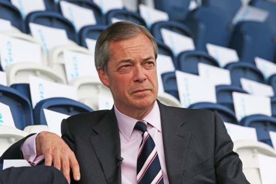 Nigel Farage at a Brexit Party rally at Mill Farm Sports Village, Wesham, Lancashire. PRESS ASSOCIATION Photo. Picture date: Saturday May 4, 2019. See PA story POLITICS Brexit. Photo credit should read: Peter Byrne/PA Wire